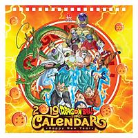 Lịch Bàn 2019 Dragon Ball Super (16 x 16cm)