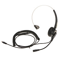 Call Center Telephone RJ 9 Headset Headphone With Mic Noise Cancelling for Office Landline Desk IP Phones