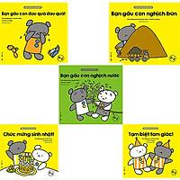 Combo 5 cuốn sách thiếu nhi Cùng Chơi Với Gấu Con