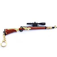 Móc khóa mô hình Game PUBG - K98 Rồng Lửa - 18cm