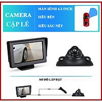 Camera 360 Ô Tô Xe Hơi Soi Lề Trái Hoặc Lề Phải Hạn Chế Va Chạm, BH 1 Năm - Labaha Shop