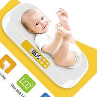 Cân sức khỏe trẻ sơ sinh phím cảm ứng tối đa 20kg chắc chắn, màn hình hiển thị rõ ràng ( TẶNG BỘ 6 CON BƯỚM SIÊU XINH DÁN TƯỜNG PHÁT SÁNG )