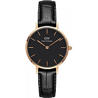 Đồng hồ nữ DANIEL WELLINGTON PETITE READING ROSE BLACK 28MM DW00100223