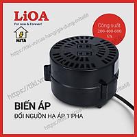 Biến Áp Đổi Nguồn Hạ Áp LiOA - Biến Áp Đổi Nguồn LiOA 200/400/600VA ( Điện Vào 220V- Điện Ra 100/120V)