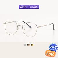 Gọng kính kim loại Elmee mắt đa giác thanh mảnh phong cách Hàn Quốc E1885