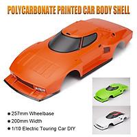 Killerbody 48309 RC Car Body Shell Kit for 257mm Wheelbase 1/10 Electric Touring Car Frame Printed Car Body Imitate