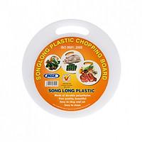 Thớt nhựa Tròn kháng khuẩn Song Long (nhiều kích thước)