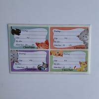 Combo 5 tập Nhãn vở Classmate ( Giao màu ngẫu nhiên)