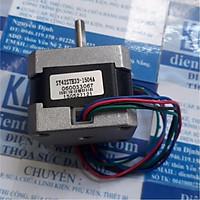 động cơ bước 42 1.8độ 2 pha 4 dây 1.5OHM áp:12-24V 1.5A 2.5KG.CM TRỤC D 5x22mm 220g kde4567