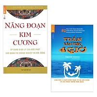 Combo 2 Cuốn Tuần Làm Việc 4 Giờ + Năng Đoạn Kim Cương (Tặng kèm Bookmark Happy Life)