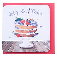 Thiệp Sinh Nhật Maisen Let'S Eat Cake