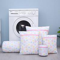 Set 5 Túi Giặt Đồ Họa Tiết Hoa - TG03