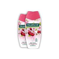 Bộ 2 Sữa tắm Palmolive sảng khoái dịu êm 100% chiết xuất từ hoa anh đào 200g