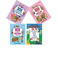 Combo 4 Cuốn: 101 Truyện Hay Về Trí Thông Minh + 101 Truyện Phá Án Kinh Điển + 101 Truyện Cổ Tích Chọn Lọc + 101 Truyện Mẹ Kể Con Nghe