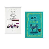 Combo 2 cuốn sách: Sinh Hoạt Của Người Việt (Bìa Cứng)  + Nghệ thuật Huế