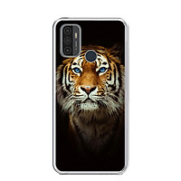 Ốp lưng dẻo cho điện thoại OPPO A53 2020 - 0300 TIGER03 - Hàng Chính Hãng