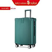 Valy du lịch valy kéo cao cấp size 20inch màu xanh lá  KINGSUN-KS 218