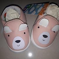 giày gấu hồng cho bé gái