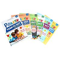 Bộ sách POMath Toán tư duy cho trẻ em 4 đến 6 tuổi (6 cuốn)