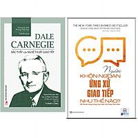 Combo Dale Carnegie - Bậc Thầy Của Nghệ Thuật Giao Tiếp+Người Khôn Ngoan Ứng Xử Giao Tiếp Như Thế Nào? Để Thành Công Trong Mọi Cuộc Hội Thoại Khó Nhằn. Minhhabooks