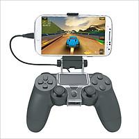 Cáp chơi game trên điện thoại cho tay cầm Playstation 4 - kèm đế giữ 6 inch