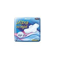 Băng vệ sinh siêu khô thoáng Micci Ultra wings top dry ( 9 miếng/gói )