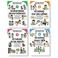 Sách - Combo Cẩm Nang Sinh Hoạt Bằng Tranh Cho Bé (4 cuốn) - NXB Kim Đồng