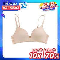 Áo lót nữ không gọng, không đệm xuất Nhật siêu mềm ZBra - ZAN01