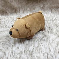Gấu we are bear màu nâu nhồi bông size 30cm