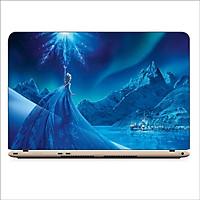 Miếng Dán Skin In Decal Dành Cho Laptop - Công Chúa Elsa 1 - Mã: 101118