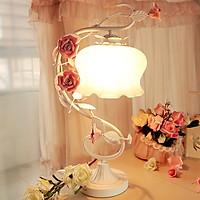 Đèn ngủ hoa hồng Anh Quốc EV1000 thiết kế tôn vinh vẻ đẹp sang trọng của phòng ngủ