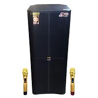 Loa kẹo kéo karaoke bluetooth Temeisheng GD 215-15 - Hàng nhập khẩu