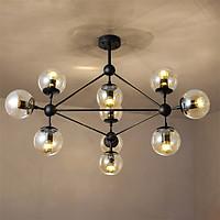 Đèn chùm phòng khách - đèn chùm trang trí - đèn trang trí phòng khách hiện đại ORIC 10 bóng cao cấp