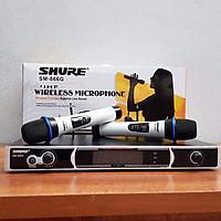 Bộ micro không dây karaoke Shure 866G, hàng nhập khẩu