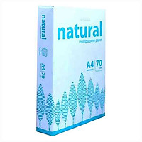 Giấy photo Natural A4/70 gms