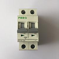 Cầu dao điện hai chiều CB AC Bộ ngắt mạch cho Solar Năng Lượng Mặt Trời GIVASOLAR FEEO AC 400V 2P 40A