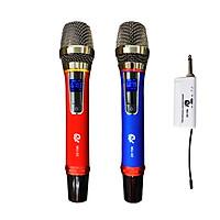 Bộ Mic MU02 - Micro Karaoke Không Dây Đa Năng Chuyên Dành Dành Cho Mọi Loa Kéo, Âm Ly - Tần Số 50, Hát Nhẹ Và Êm - Phù Hợp Cho Những Bữa Tiệc Dã Ngoại - Hàng Nhập Khẩu