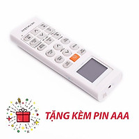Điều khiển điều hòa LG 1 chiều loại to tặng kèm pin