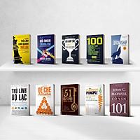 Bộ 10 cuốn sách lãnh đạo bán chạy nhất - Cẩm nang bí mật giúp bạn trở thành một nhà lãnh đạo tài ba nt (The book of Leadership - Dẫn dắt bản thân, đội nhóm và tổ chức vươn xa ,100 phương pháp truyền động lực cho đội nhóm chiến thắng ,Đội Xuất Sắc Nhất Giành Chiến Thắng ,Nguyên Tắc Củ Cà Rốt,51 chìa khóa vàng để trở thành nhà lãnh đạo truyền cảm hứng,Lãnh đạo 101,Đế chế Alibaba,Đội nhóm trong mơ,Để trở thành thủ lĩnh kinh doanh xuất sắc,Thủ lĩnh bộ lạc,)