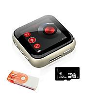 Combo Máy nghe nhạc MP3 thể thao RUZU X21 + thẻ nhớ 32G tặng đầu đọc thẻ nhớ - Hàng nhập Khẩu