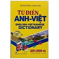 Từ Điển Anh - Việt (251.000 Từ)