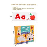 Spelling Game - Chữ Cái Tiếng Anh - Đồ Chơi Ghép Chữ Cho Bé Học Ghép Chữ Tiếng Anh - Hàng Việt Nam Chất Lượng Cao