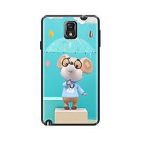 Ốp lưng TPU viền dẻo cho điện thoại SAMSUNG GALAXY NOTE 3 Hình Chuột Tết 2020 - Mẫu 20