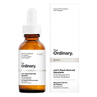 The Ordinary Plant-Derived Squalane 100% (30ml)