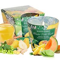Ly nến thơm tinh dầu Bartek Winter Tutti Frutti 115g QT3159 - nho, quế, lựu (giao mẫu ngẫu nhiên)