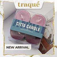 [LẺ - 5 mùi] Nến thơm Tealight 4 màu - trang trí, làm thơm phòng và tạo không gian lãng mạn