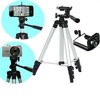 Giá đỡ máy ảnh, điện thoại quay phim, chụp hình tặng remote bluetooth SO-8561