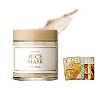 Mặt Nạ Dưỡng Trắng Da Chiết Xuất Gạo I'm From Rice Mask 110g + Tặng Kèm 1 Mặt Nạ Dưỡng Da 3W Clinic