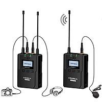 Micro không dây cho máy ảnh, máy quay Comica CVM-WM200 (A/C) - Hàng chính hãng