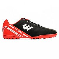 Giày đinh đá bóng sân cỏ nhân tạo Prowin RX + kèm tất bóng đá cao cổ (đen/ cam)